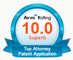 Avvo Rating for Top Attorney Patent Application